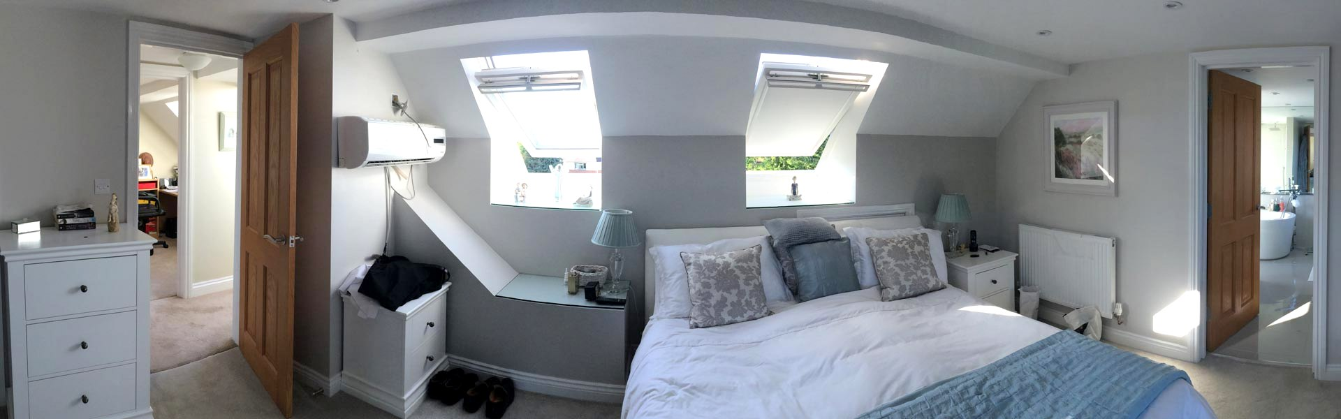 Loft Conversion Bedrooom by Apex Loft Conversions