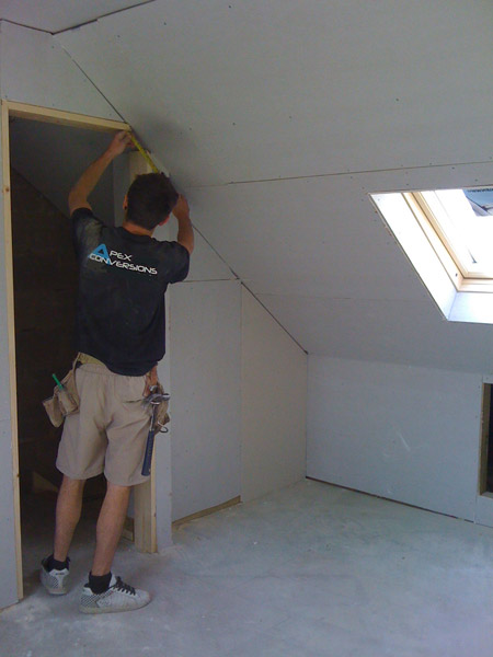 Loft conversion with velux windows in Brighton, Sussex