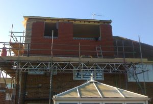 Part build loft conversion with rear dormer and gable extension