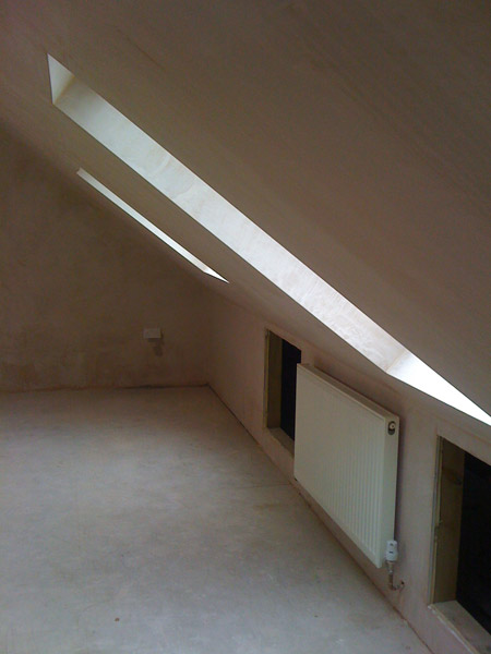 Velux window loft conversion in Brighton, Sussex